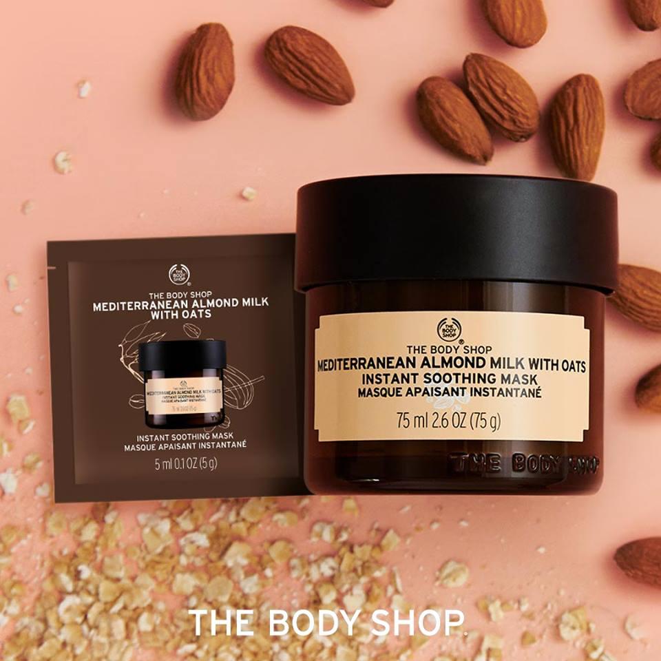 Échantillon gratuit masque à l'avoine The Body Shop