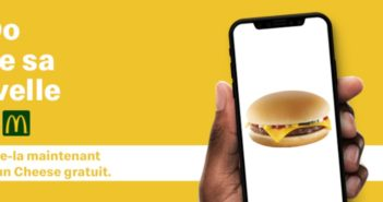 Cheese burger gratuit chez McDonalds