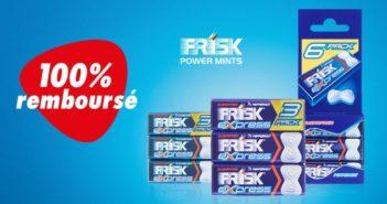 Bonbons Frisk Express remboursés avec myShopi
