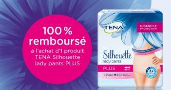 Protection urinaire Tena Silhouette Pants Plus 100% remboursé avec myShopi
