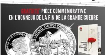 Pièce commémorative de la Grande Guerre gratuite