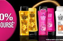 Shampooing ou après-shampooing Gliss Kur 100% remboursé avec myShopi