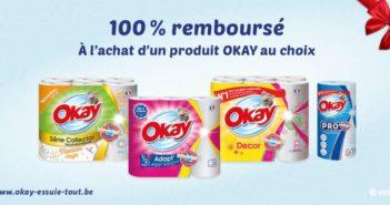 Essuie-tout Okay 100% remboursé sur myShopi