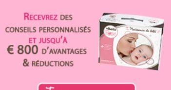 Coffret cadeau La boîte rose pour jeunes ou futures mamans
