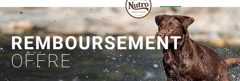Nourriture Nutro pour chats ou chiens 100% remboursé