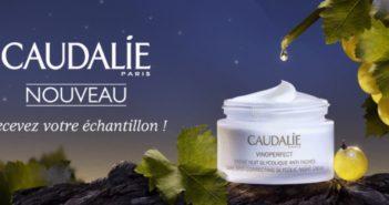 Échantillon gratuit crème de nuit Vinoperfect Caudalie