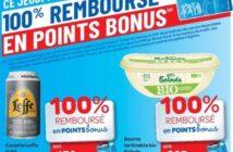 Produits 100% remboursés chez Carrefour le 14/02/2019