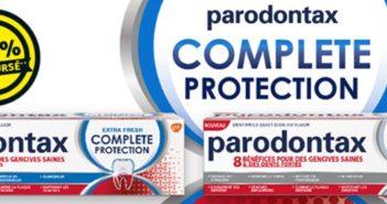 Dentifrice Parodontax 100% remboursé chez Kruidvat