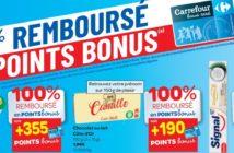 Produits 100% remboursé chez Carrefour le 21 mars 2019