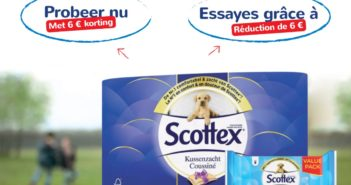 Réduction papier toilette Scottex