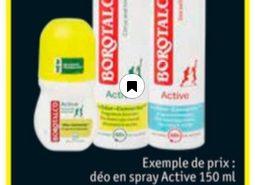 éodorant Borotalco 100% remboursé chez Kruidvat