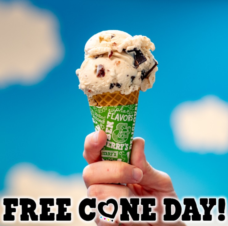 Free Cone Day, glace Ben & Jerry's gratuites