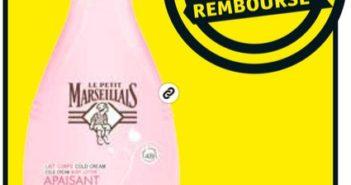 Crème corporelle Le Petit Marseillais 100% remboursé chez Kruidvat