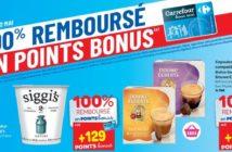 Produits 100% remboursé chez Carrefour le 2 mai 2019