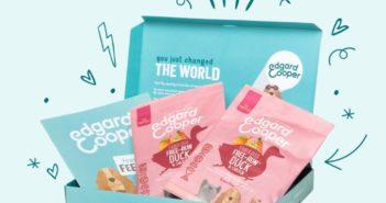 Échantillon gratuit de nourriture pour chiots ou chiens Edgard Cooper