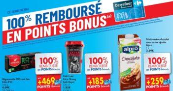 Produits 100% remboursés chez Carrefour Hyper le 16 mai 2019
