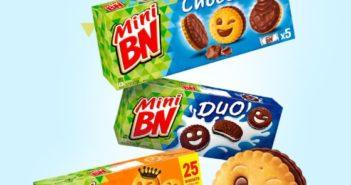 Biscuits BN Mini 100% remboursé sur Shopmium