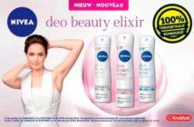 Déodorant Nivea Beauty Elixir 100% remboursé chez Kruidvat