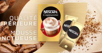 Échantillons gratuits de café Nescafé Cappuccino