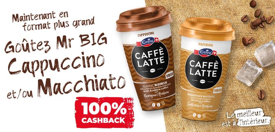 Emmi Café Latte 100% remboursé avec myShopi