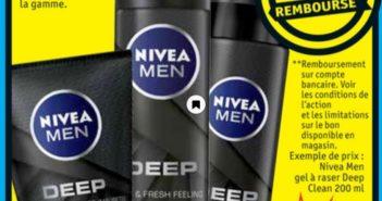 Produit Nivea Men Deep 100% remboursé chez Kruidvat