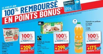 Produits 100% remboursés chez Carrefour Hyper le 27 juin 2019