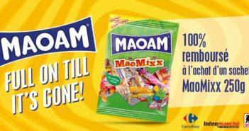Bonbons Maoam Maomixx 100% remboursés avec myShopi