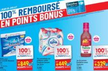 Produits 100% remboursés chez Carrefour le 25 juillet 2019