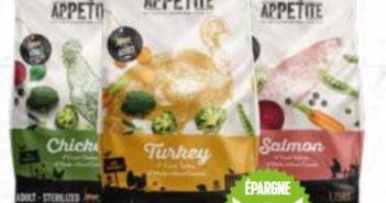 Nourriture pour chats Appetite satisfait ou 100% remboursé chez Tom & Co