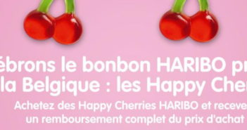 Bonbons Haribo Happy Cherries 100% remboursé