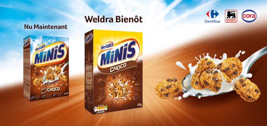 Céréales Weetabix Minis Choco 100% remboursés avec myShopi