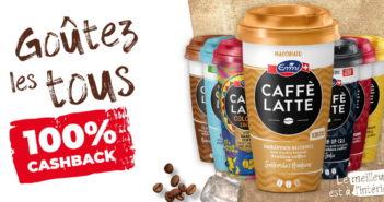 Emmi Caffè Latte 100% remboursé avec myShopi