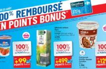 Produits 100% remboursés chez Carrefour le 22 août 2019