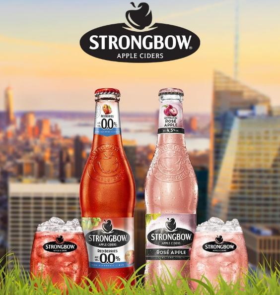 Cidre Strongbow 100% remboursé avec Shopmium