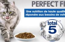 Test gratuit de la nourriture pour chats Perfect Fit avec Les Initiés