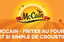 Test gratuit des frites au four McCain grâce aux Initiés