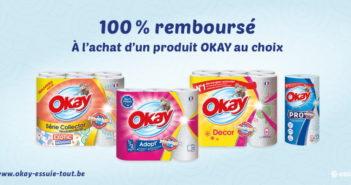 Essuie-tout Okay 100% remboursé avec myShopi