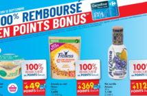 Produits 100% remboursés chez Carrefour le 12 septembre 2019