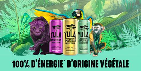Boisson énergisante YULA gratuite