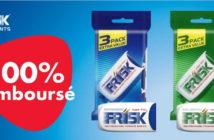 Pastilles Frisk 100% remboursé avec myShopi