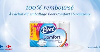 Papier toilette Edet 100% remboursé avec myShopi