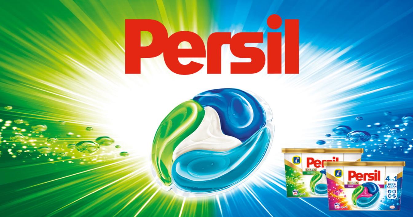 Testez gratuitement la lessive Persil Discs avec les Initiés