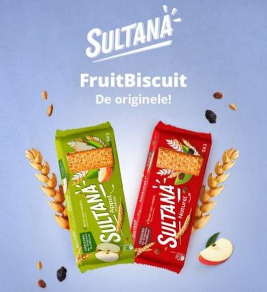Sultana FruitBiscuit 100% remboursé avec Shopmium