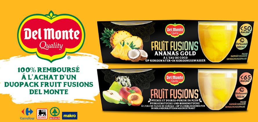 Del Monte Fruit Fusions 100% remboursé avec myShopi