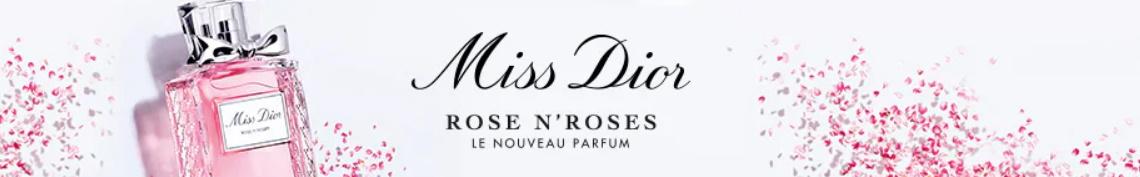 Échantillon gratuit du parfum Miss Dior Rose 'n roses