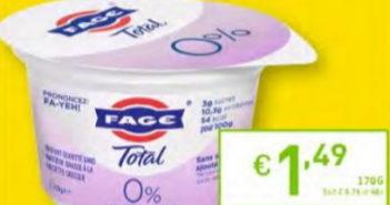 Yaourt Fage 100% remboursé chez Intermarché