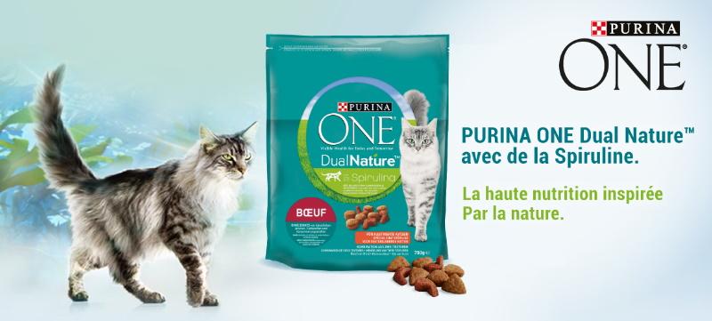 Échantillon gratuit de croquettes pour chats Purina One