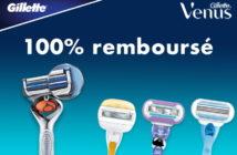 Rasoir Gillette Venus 100% remboursé