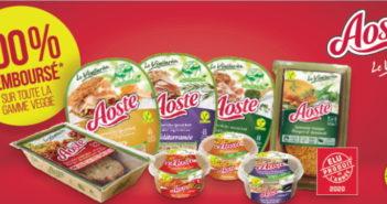 Aoste Le Végétarien 100% remboursé