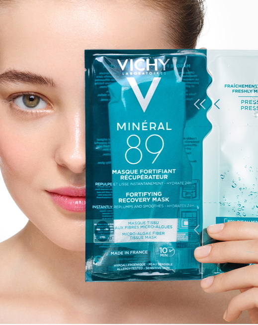 Test gratuit masque visage Vichy